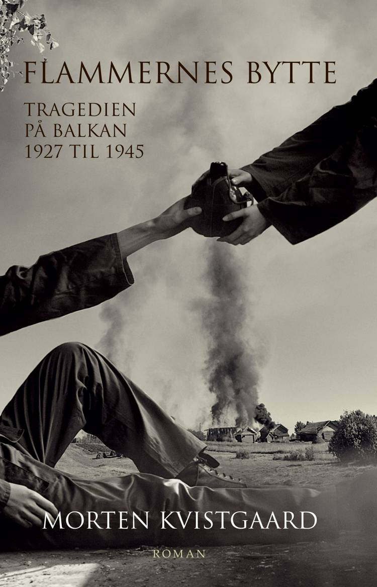 Flammernes bytte af Morten Kvistgaard