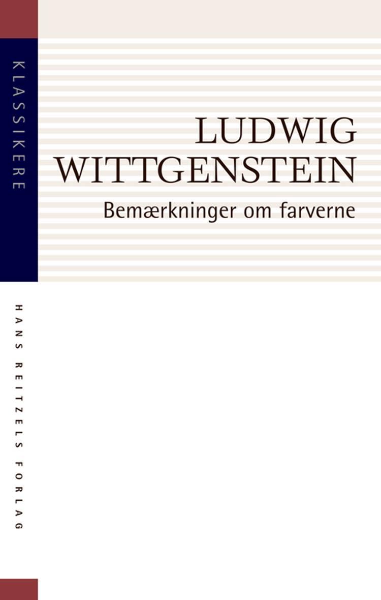 Bemærkninger om farverne af Ludvig Wittgenstein