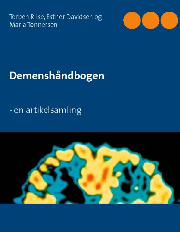 Demenshåndbogen af Maria Tønnersen, Esther Davidsen og Torben Riise