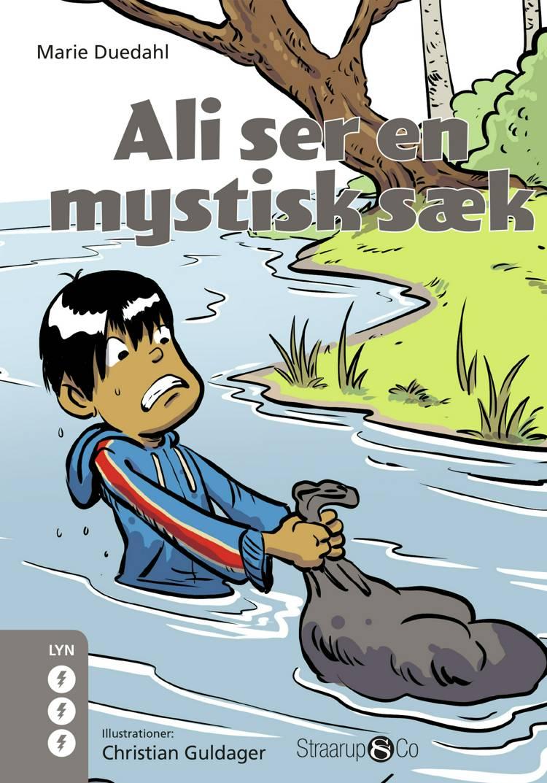 Ali ser en mystisk sæk af Marie Duedahl