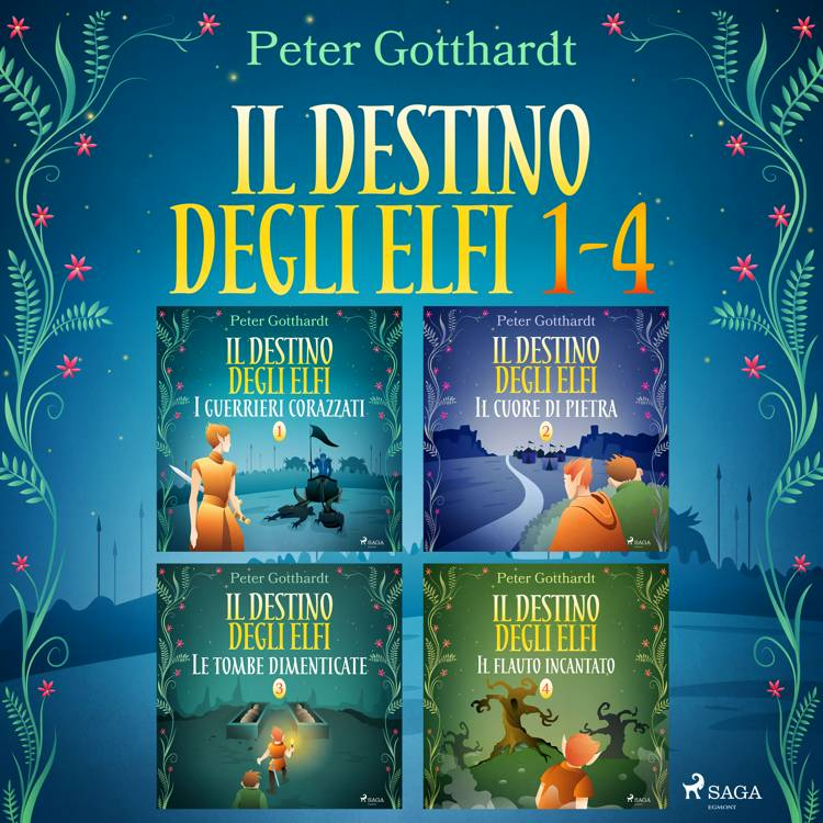 Il destino degli Elfi 1-4 af Peter Gotthardt