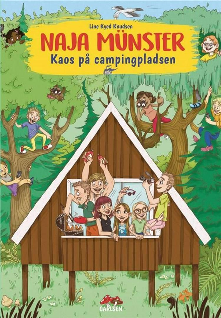 Kaos på campingpladsen af Line Kyed Knudsen