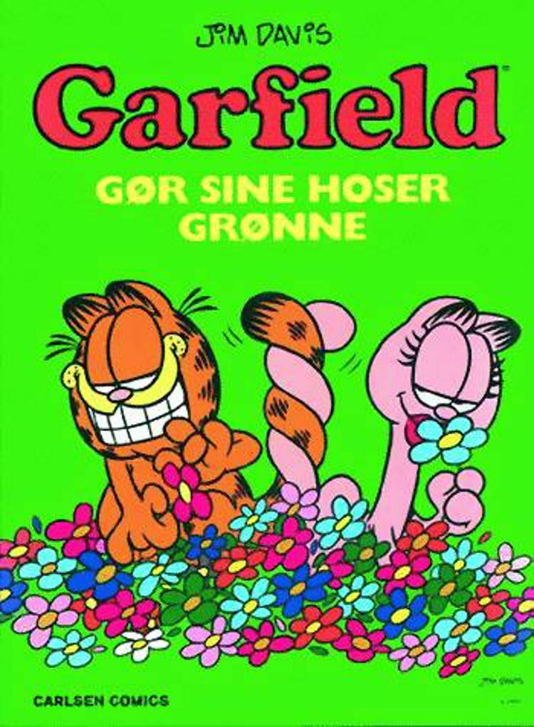 Garfield gør sine hoser grønne af Jim Davis