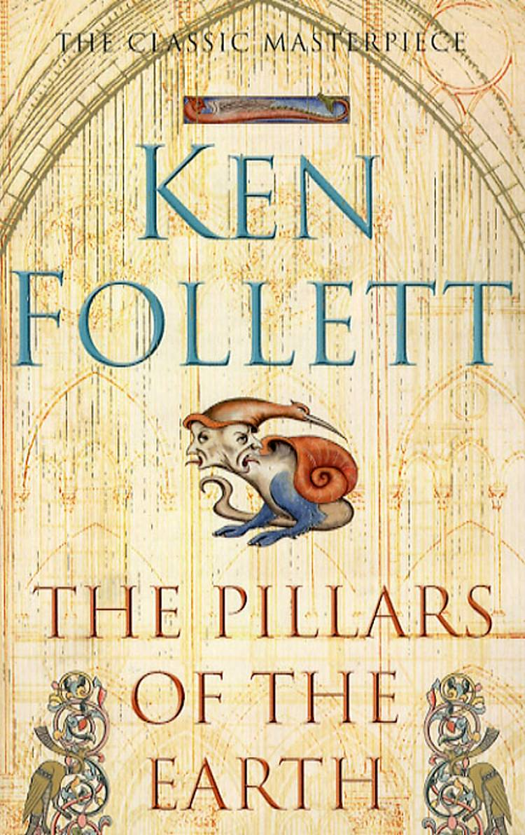 Pillars of the earth af Ken Follett