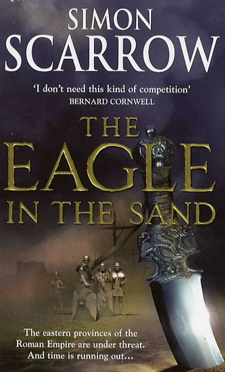 The Eagle in the sand (HE) af Simon Scarrow