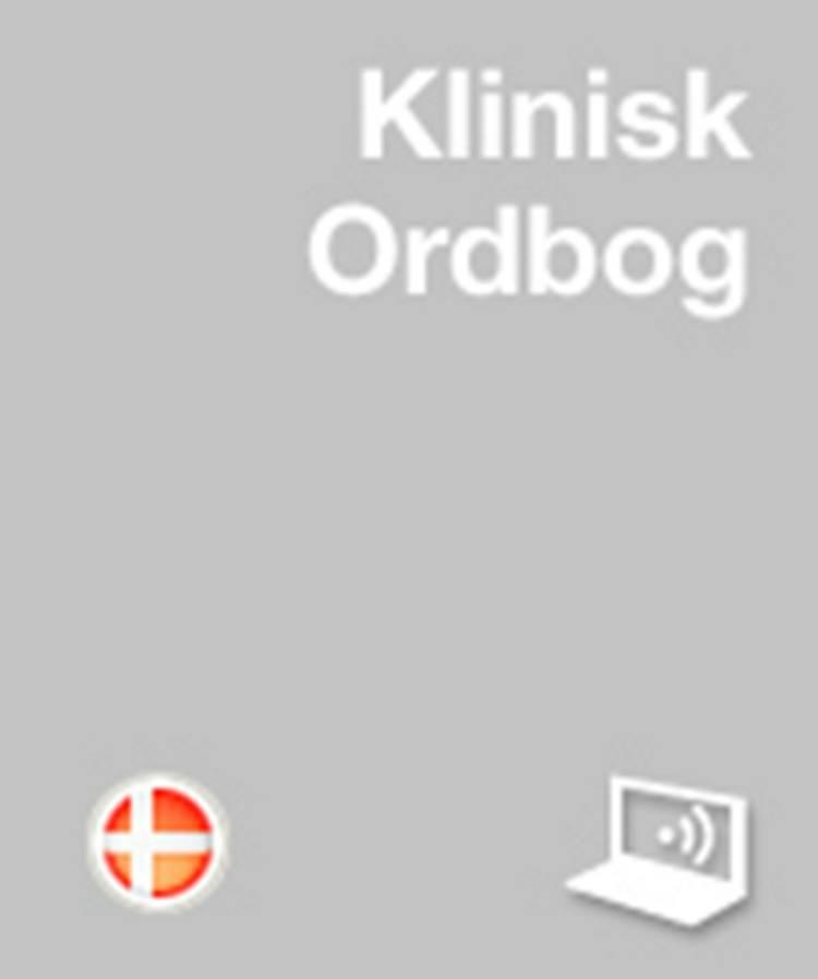 Klinisk Ordbog af Bengt I. Lindskog