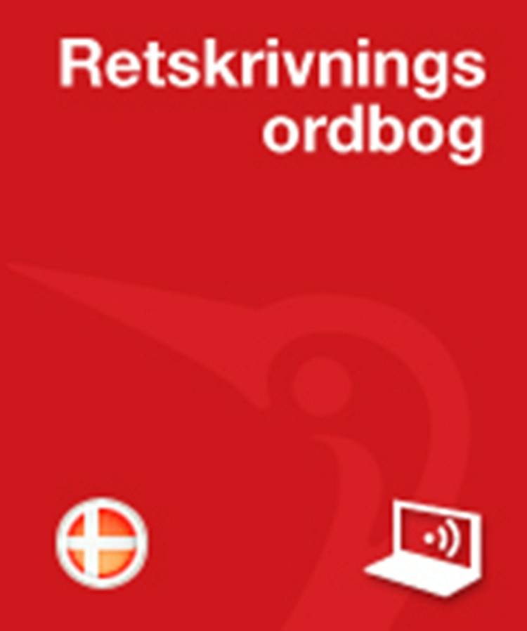 Retskrivningsordbog PRO Privat Online af Thomas Ingemann, Jens Axelsen og Pia Vater m.fl.