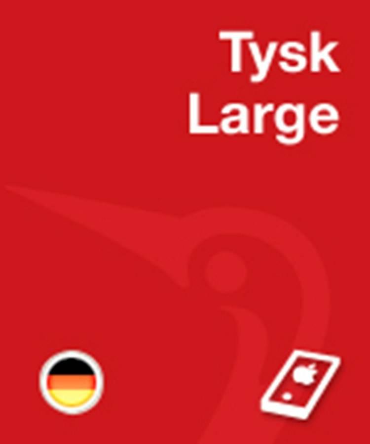 Gyldendals Tysk Ordbog - Large af Jens Erik Mogensen, Holm Fleischer og Ingeborg Zint m.fl.