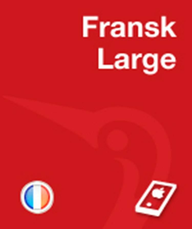 Gyldendals Fransk Ordbog - Large af Henrik Lorentzen, Bruno della Bartolomea og Kirsten Jeppesen Kragh m.fl.