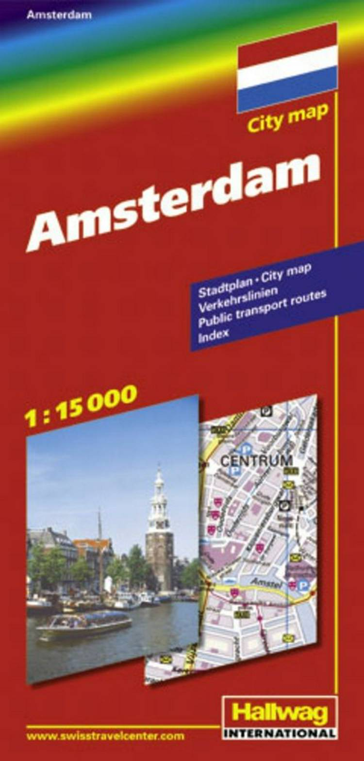 Hallwag, bykort, Amsterdam