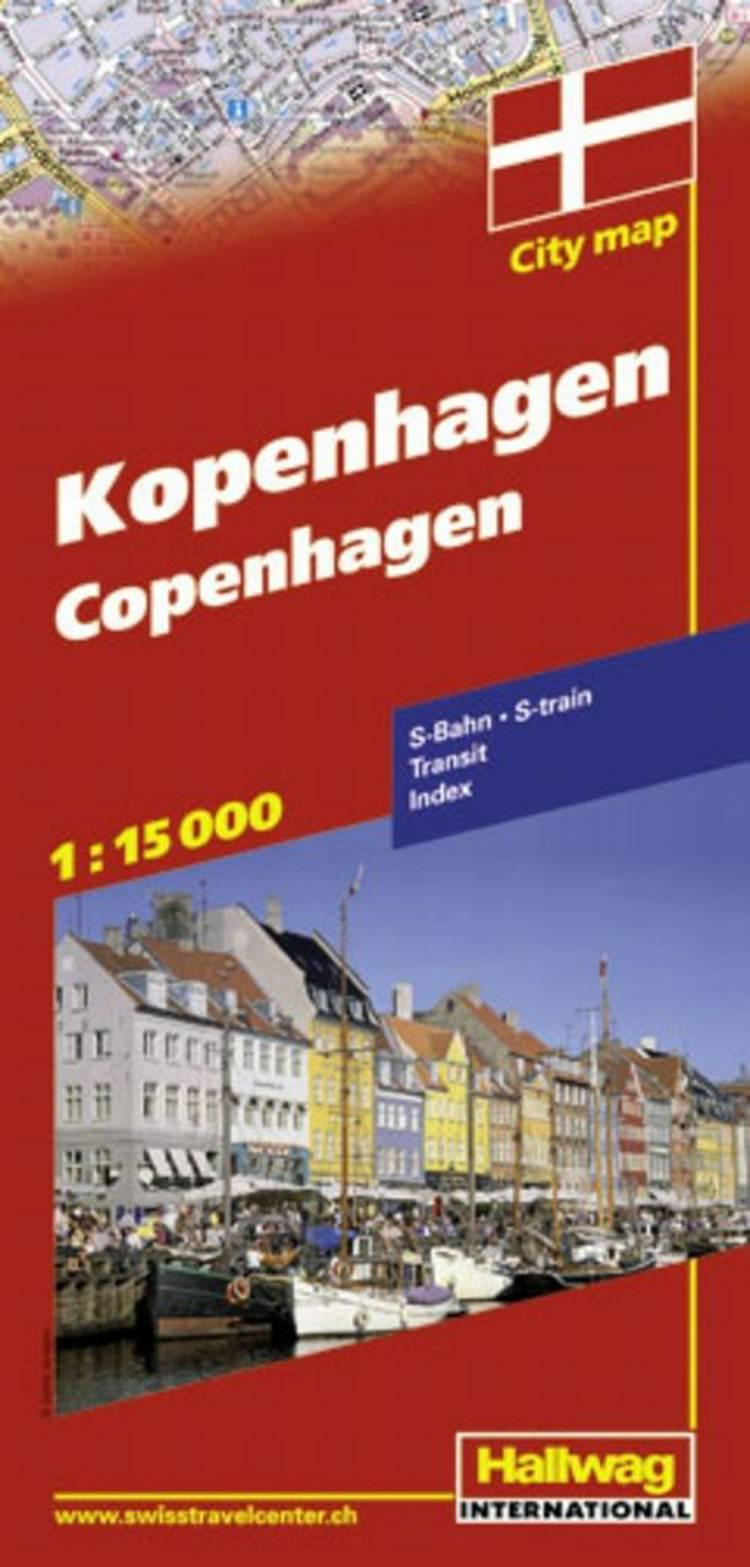 Hallwag, bykort, København