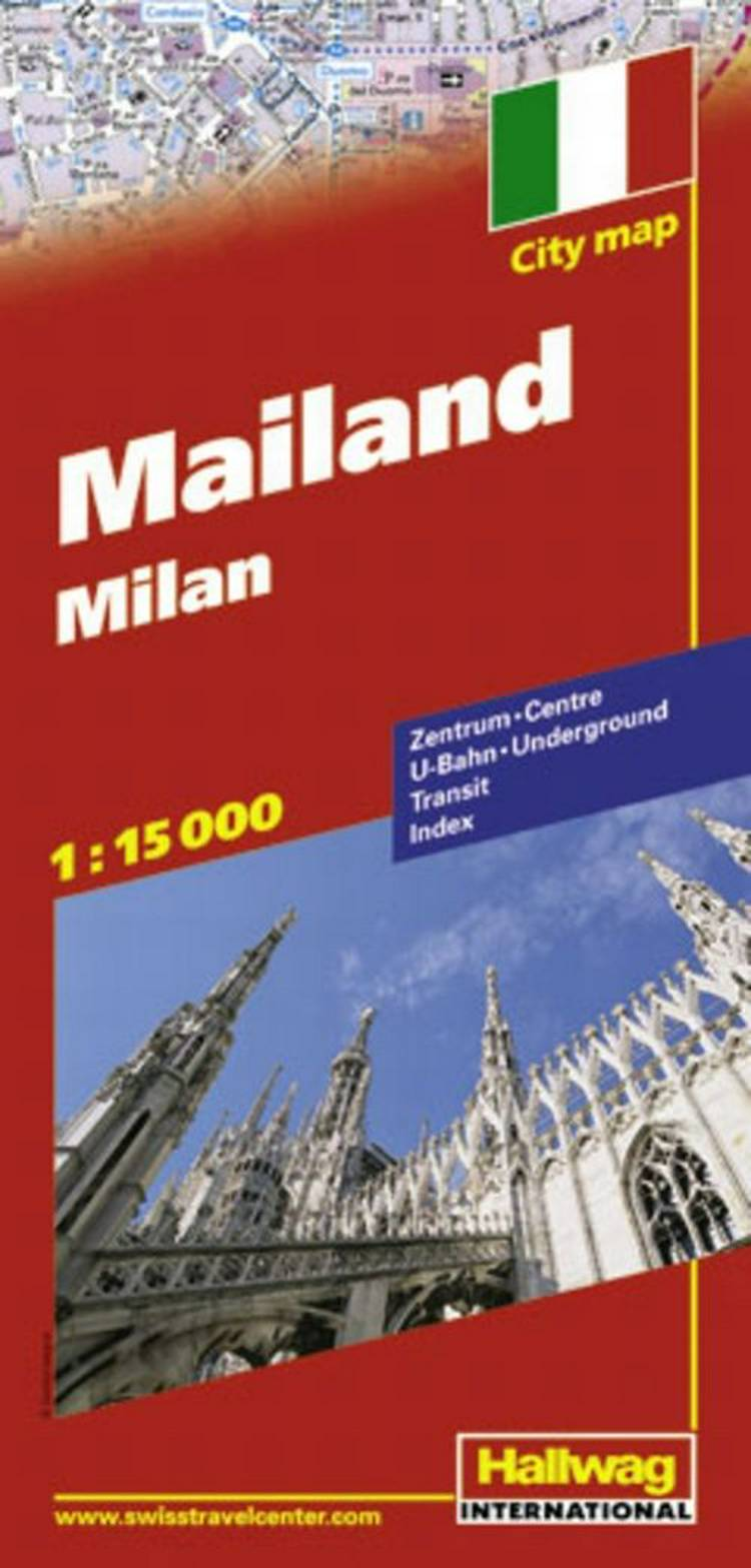 Hallwag, bykort, Milano