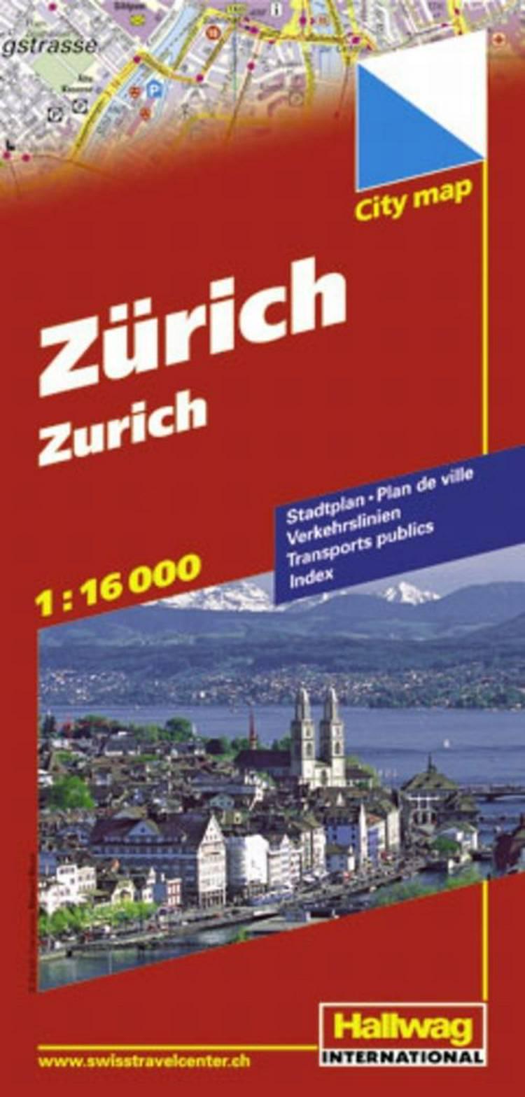 Hallwag, bykort, Zurich