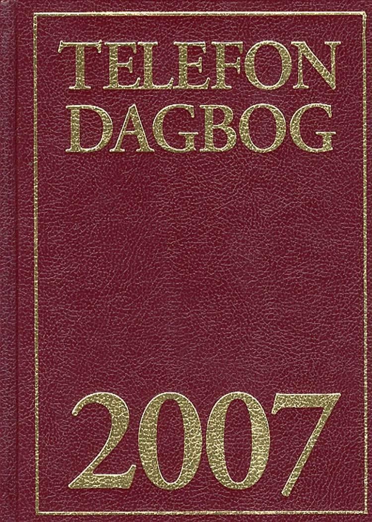 Telefondagbog 2007- Klassisk
