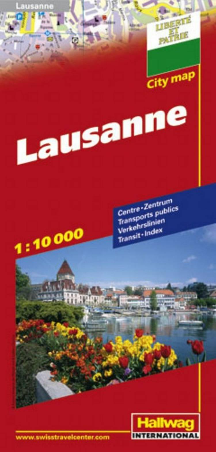 Hallwag, bykort, Lausanne