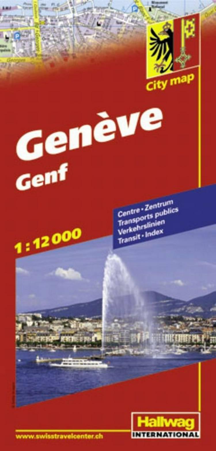 Hallwag, bykort, Geneve