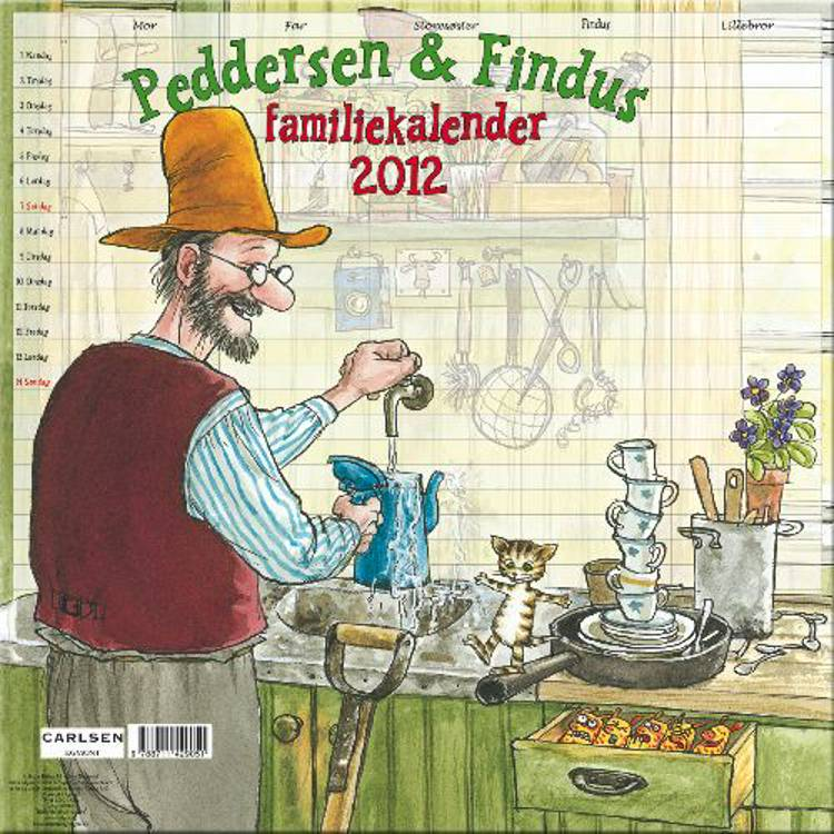 Peddersens Familiekalender 2012 af Sven Nordqvist