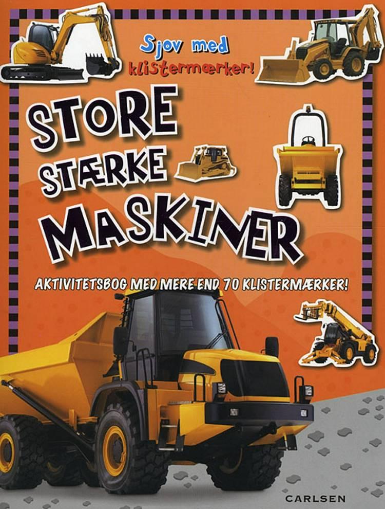 Sjov med klistermærker: Store stærke maskiner (min. 6 stk)