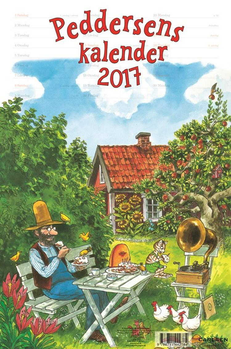 Peddersen kalender 2017 af Sven Nordqvist