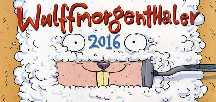 Wulffmorgenthaler kalender 2016 af Anders Morgenthaler og Mikael Wulff