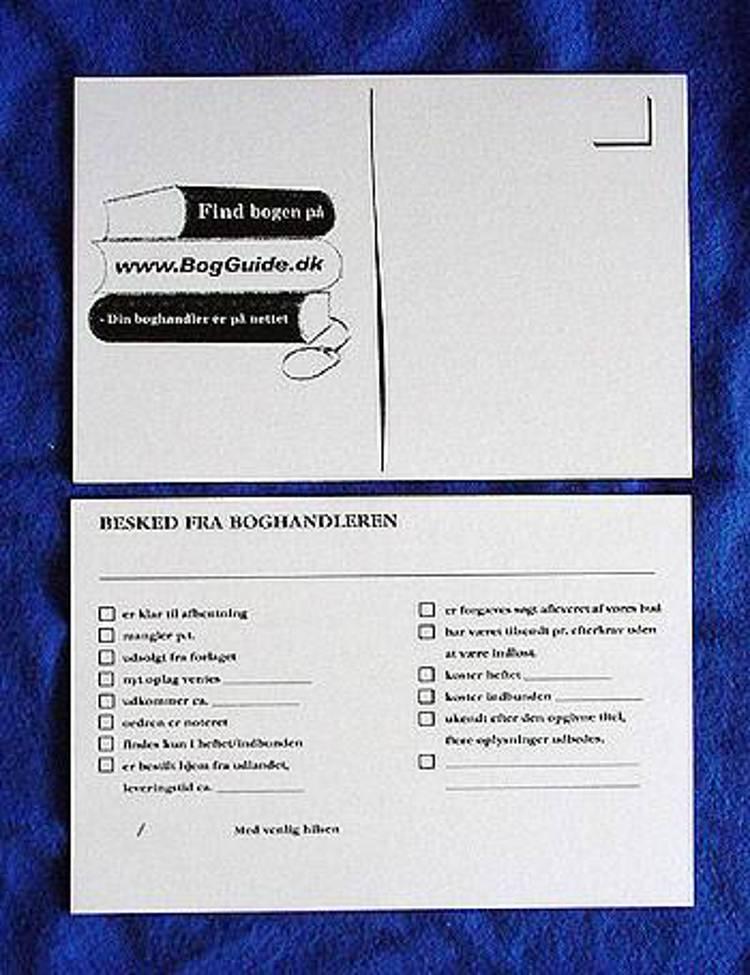DDB kort til kunde meddelelser pr. 250