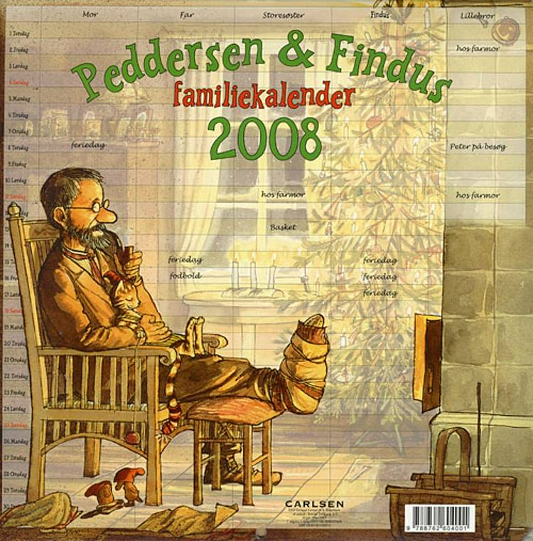 Peddersen og Findus familiekalender 2008