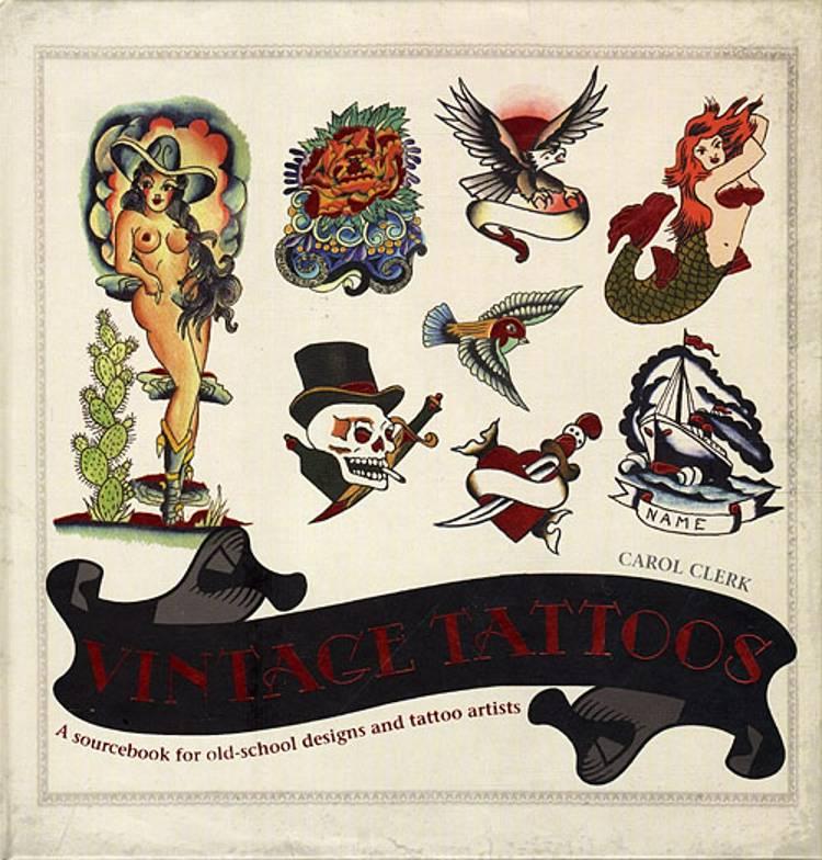 Vintage Tattoos af Carol Clerk
