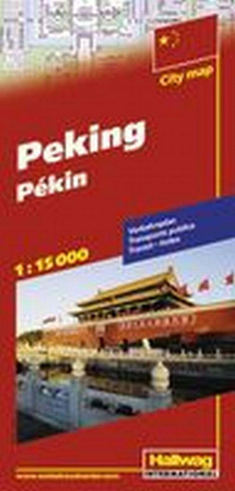 Hallwag, bykort, Beijing