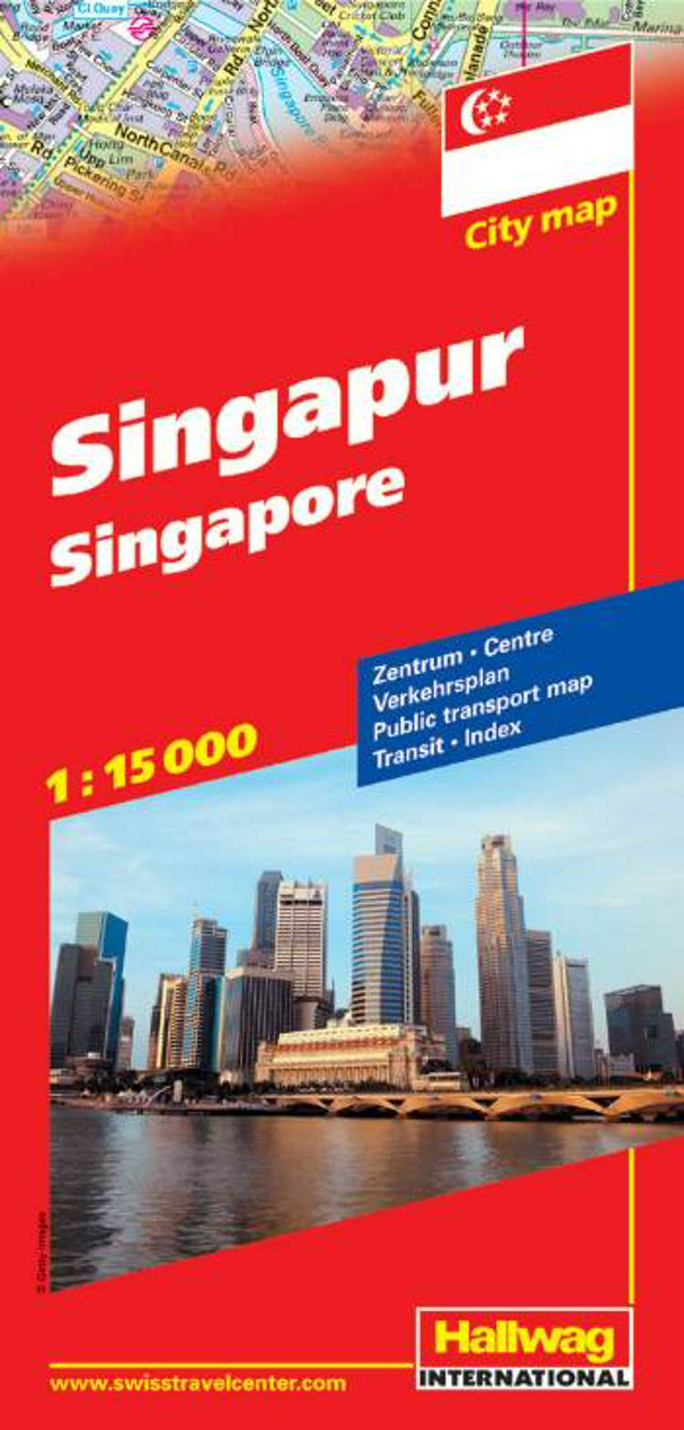 Hallwag, bykort, Singapore