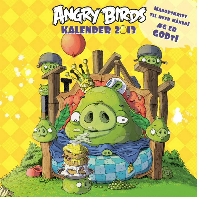 Angry Birds kalender 2013 af Angry Birds