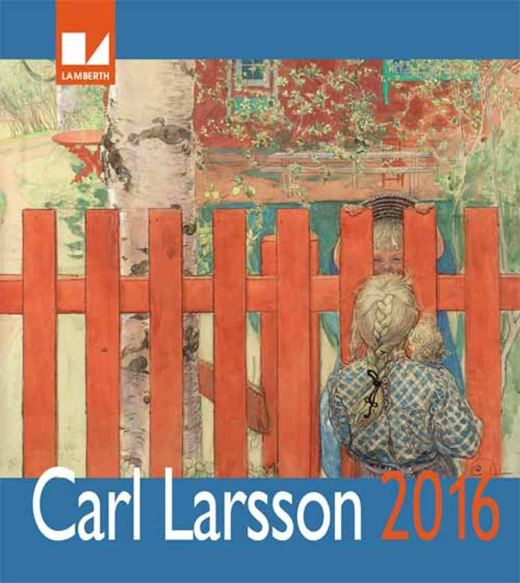Carl Larsson kalender 2016