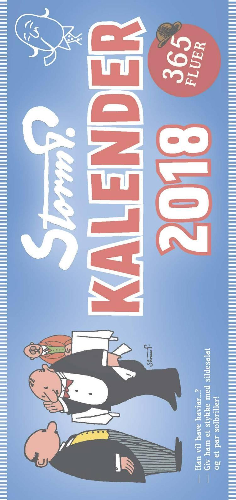 Storm P. kalender 2018 - 366 fluer af Robert Storm Petersen
