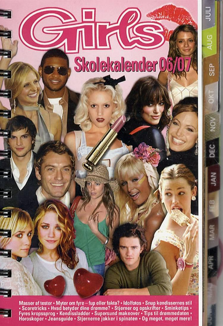 Girls Skolekalender 2006/07