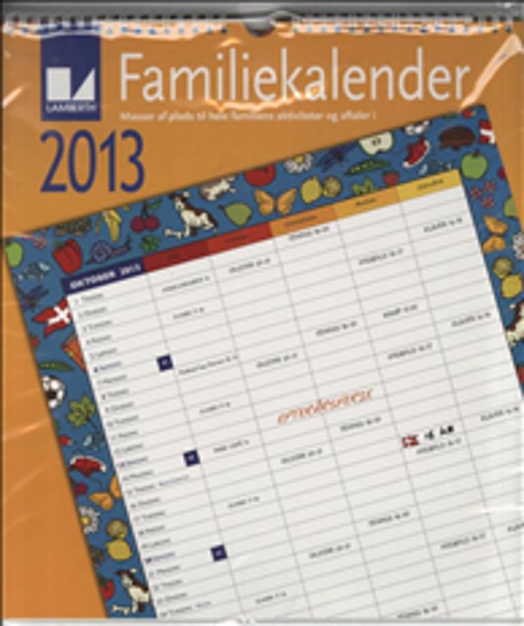 Familiekalender 2013