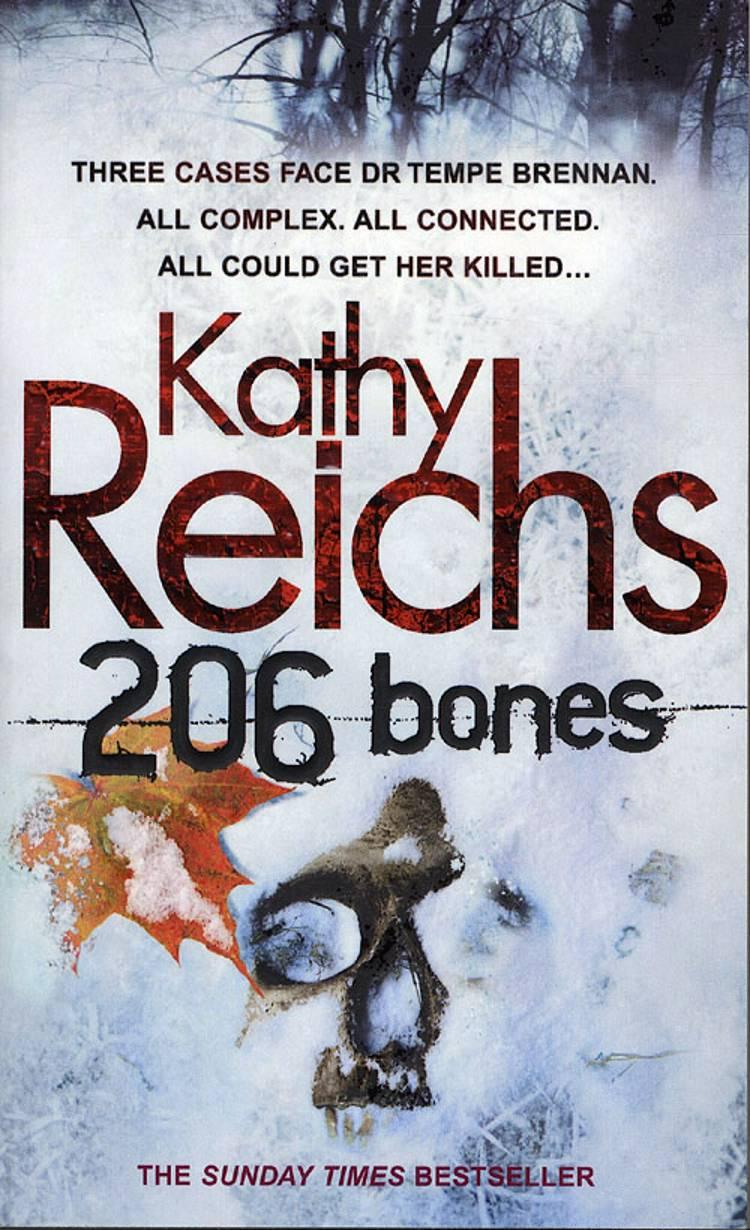 206 Bones af Kathy Reichs