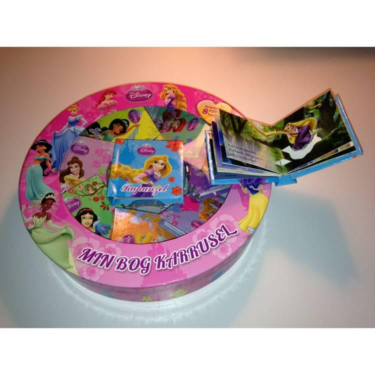 Disney Bogkarrusel Prinsesser