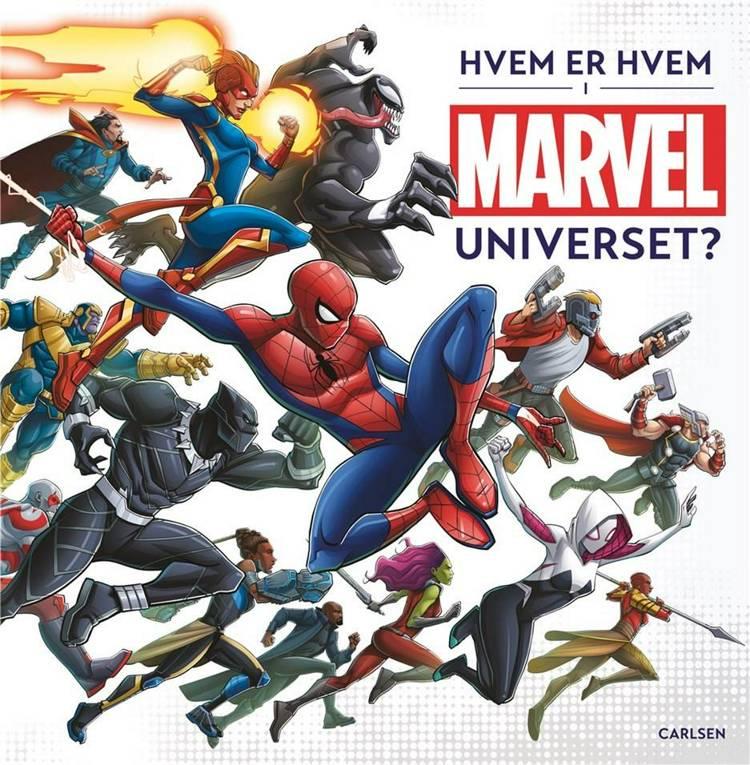 Hvem er hvem i Marvel-universet? af Marvel