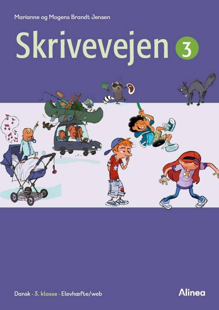 Skrivevejen 3, Elevhæfte/Web af Mogens Brandt Jensen og Marianne Brandt Jensen