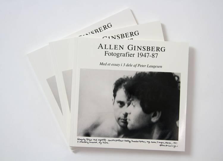 Allen Ginsberg - Fotografier 1947-87 af Peter Laugesen og Allen Ginsberg