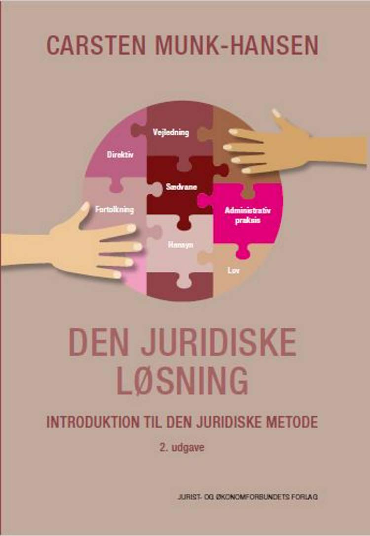 Den juridiske løsning af Carsten Munk-Hansen