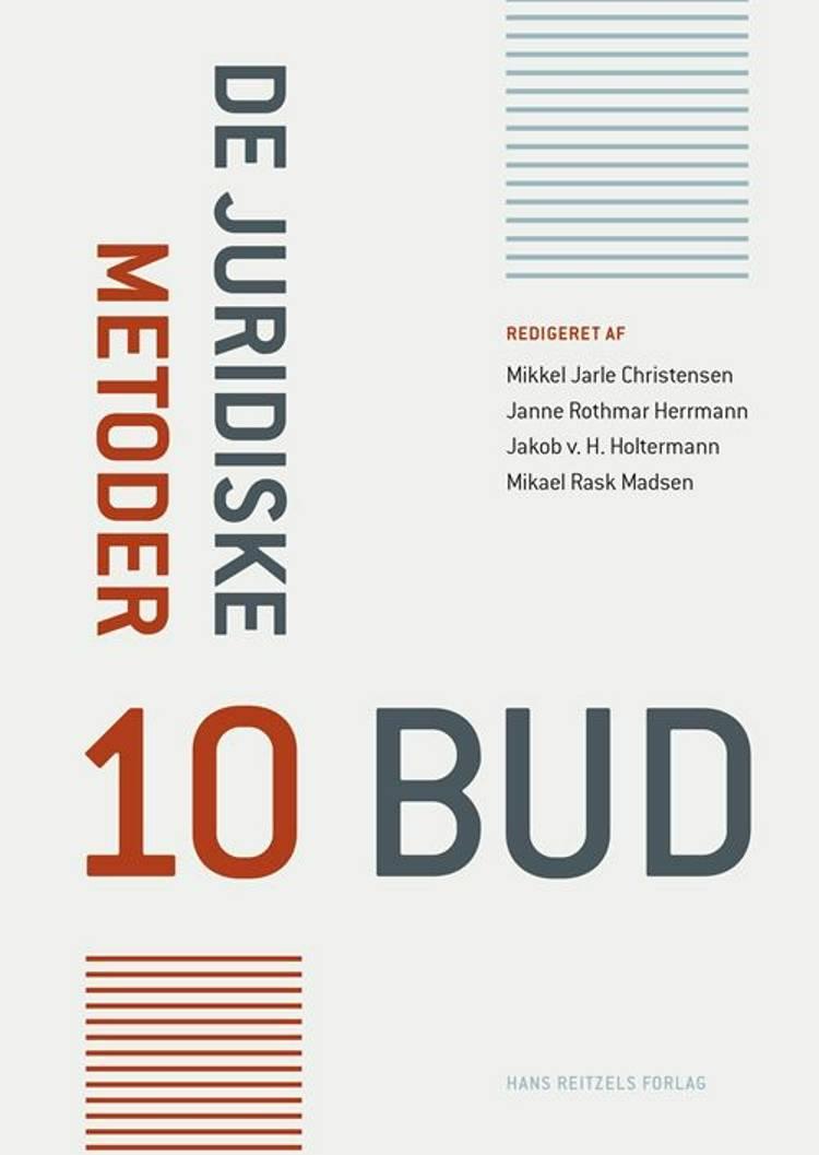 De juridiske metoder af Christian Bergqvist, Mikael Rask Madsen og Jakob von Holderstein Holtermann m.fl.
