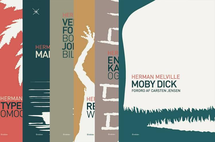 Samlede værker 1-6 af Herman Melville