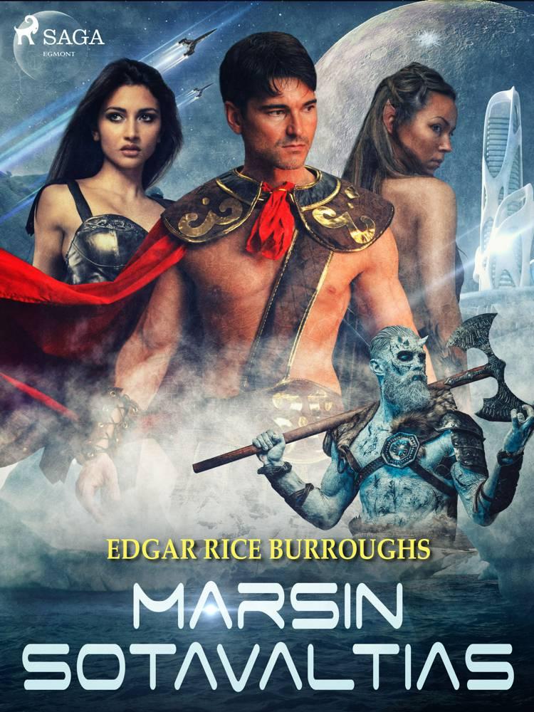 Marsin sotavaltias af Edgar Rice Burroughs