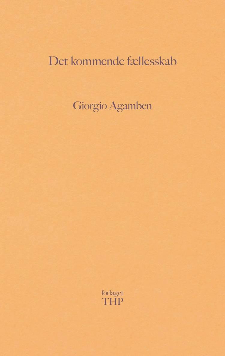 Det kommende fællesskab af Giorgio Agamben