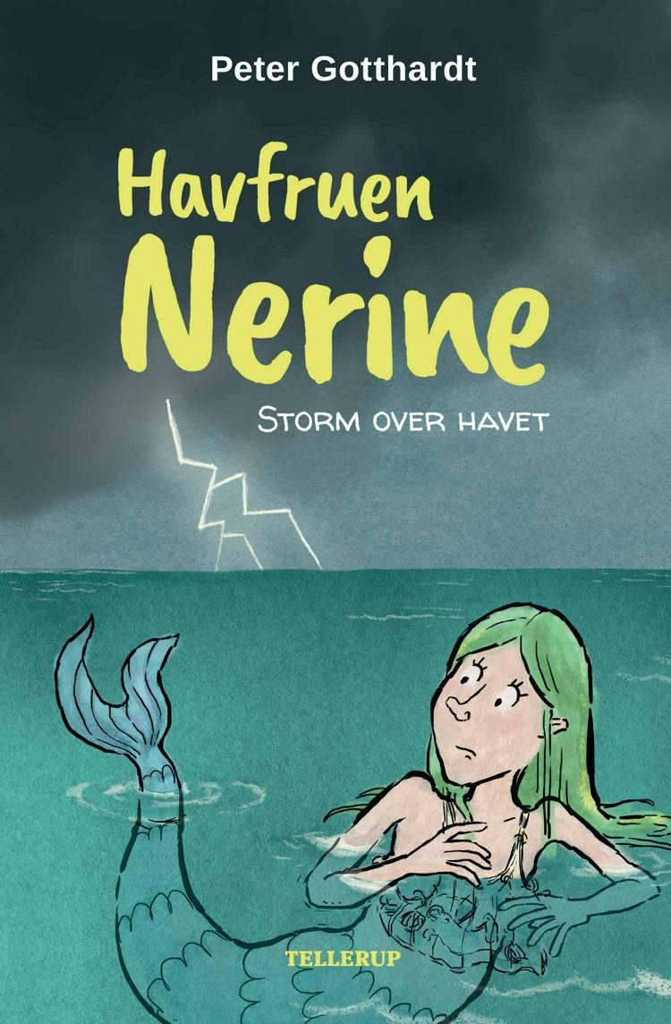 Havfruen Nerine #4: Storm over havet (Lyt & Læs) af Peter Gotthardt