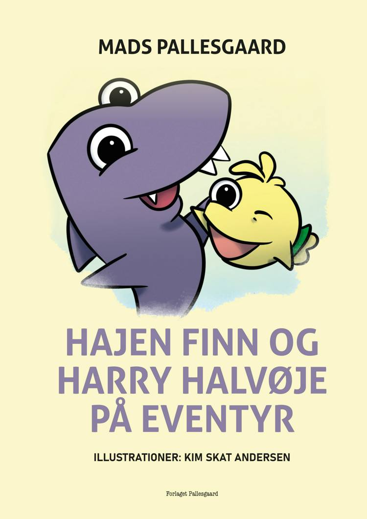 Hajen Finn og Harry halvøje af Mads Pallesgaard