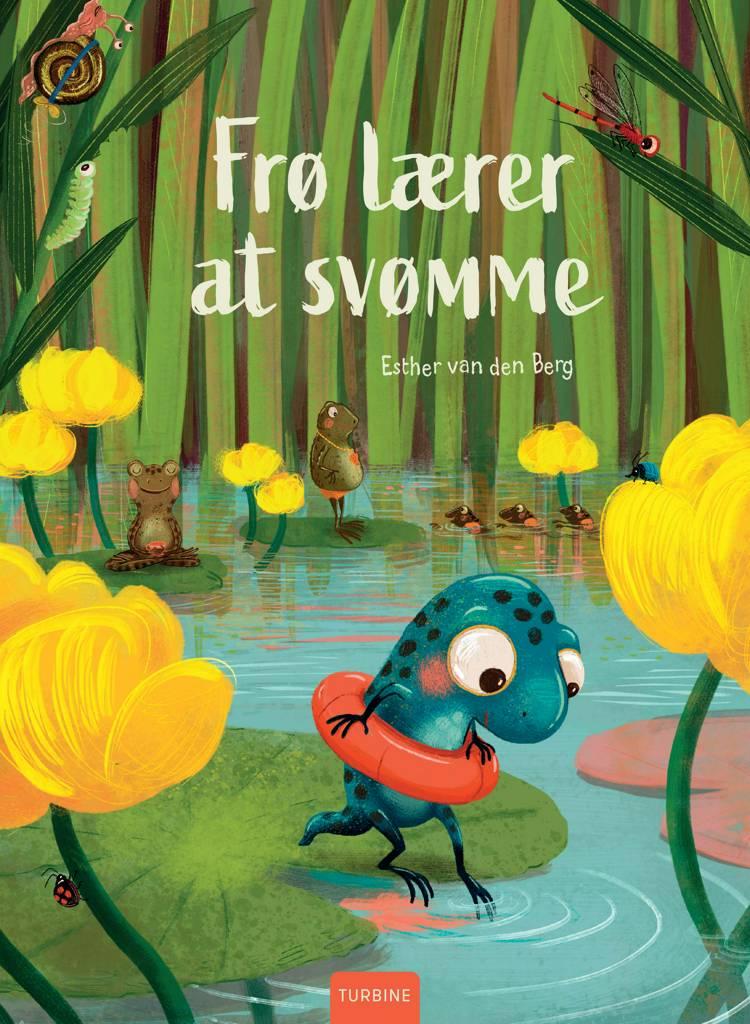 Frø lærer at svømme af Esther van den Berg