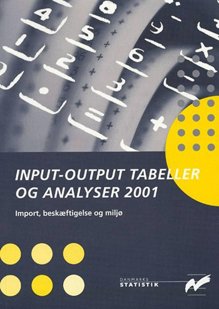 Input-output tabeller og analyser