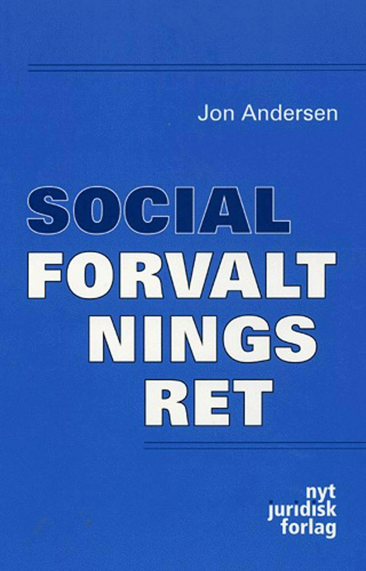 Socialforvaltningsret af Jon Andersen