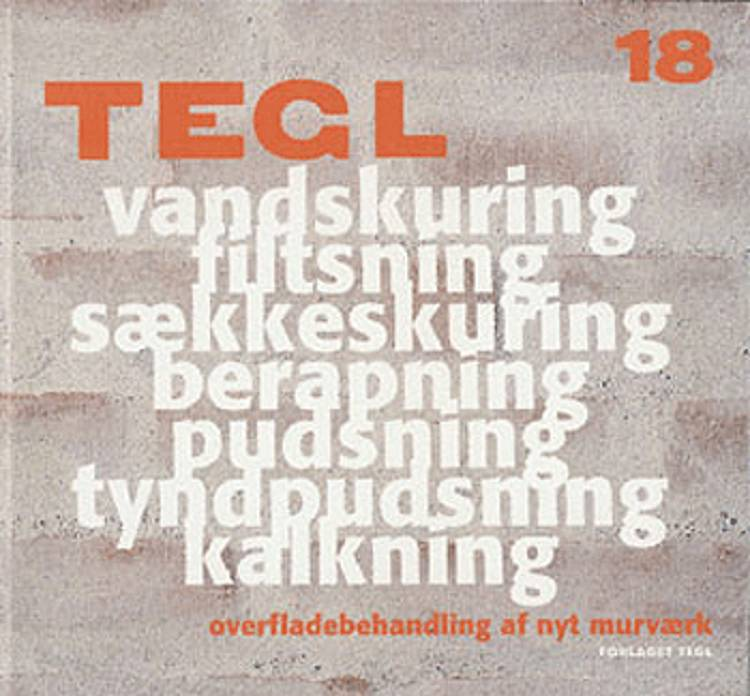 Overfladebehandling af nyt murværk af tekst Bygge- og Miljøteknik, tekst Bygge- og Miljøteknik